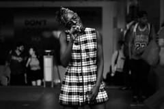 IMG_7291 (JetBlakInk) Tags: performance artists street streetphotography womenbusker busker monochrome