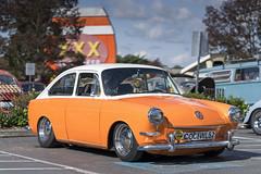 Creamsicle (vtom61) Tags: vw volkswagen sonya7riii sonyfe85mmf18 creamsicle orange triplexrootbeer issaquah type3 1600 fastback