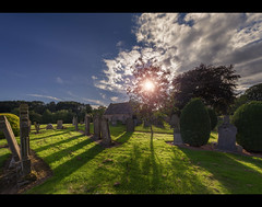 The past is past and nothing can change that... (Dark side of the lens) Tags: edzell angus scotland uk grave graveyard graves cinematic location movie concept lightroom photoshop carl zeiss chapel church