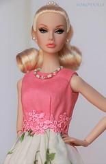 Peach Parfait Poppy (YOKO*DOLLS) Tags: poppyparker peachparfait fashionroyalty handmade doll jasonwu