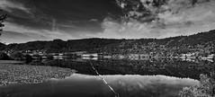 Volcanic Eifel - Meerfelder Maar (PHOTOGRAPHY Toporowski) Tags: water sw germany deutschland landscape see clouds reflection lake wasser schwarzweis kontrast himmel landschaft reflektion eschweiler nrwnordrheinwestfalen deu