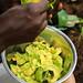 Extracting Avocado Flesh