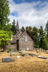 St Anne and St Edmund Anglican Church - Parksville, Vancouver Island, British Columbia, Canada (Toad Hollow Photography) Tags: drone anglican aerial anglicanchurch historic history heritage wood interior exterior architecture parksville vancouverisland britishcolumbia bc canada