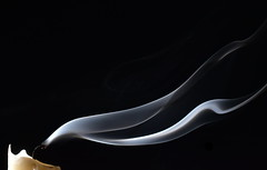 An Old Flame (Jay Berg1) Tags: smoke candle macro wick