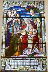 Weymouth - St Mary's Church (Glass Angel) Tags: weymouth stmaryschurch dorset uk stainedglasswindows stainedglass abbottco