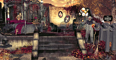 SWANK - litlle branch (Bebel kharis) Tags: swank grass halloween plant autumn garden forest tree flowers mesh wild patch leaves leafs fantasy irrisistible sl secondlife second life pumpkins decor stone fall furniture horror house home stair decal