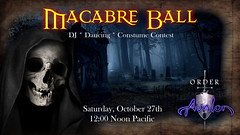 Avalon's Macabre Ball 2018 (Alanna Bellerose) Tags: halloween costume medieval graveyard dragon dance party contest prizes