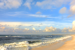 Beach Mornings - Pensacola Beach, Florida (J.L. Ramsaur Photography) Tags: jlrphotography nikond7200 nikon d7200 photography photo 2018 engineerswithcameras photographyforgod thesouth southernphotography screamofthephotographer ibeauty jlramsaurphotography photograph pic tennesseephotographer pensacolabeachfl florida escambiacountyflorida emeraldcoast beach ocean gulfofmexico sand waves pensacolabeach floridapanhandle worldswhitestbeaches cradleofnavalaviation gulfislandsnationalseashore westerngatetothesunshinestate americasfirstsettlement pensacolabeachflorida pcola redsnappercapitaloftheworld cityoffiveflags pcolabeach sunrise sunset sun sunrays sunlight sunglow orange yellow blue bluesky deepbluesky beautifulsky clouds sky skyabove allskyandclouds wherethemapturnsblue ilovethebeach bluewater blueoceanwater sea landscape southernlandscape nature outdoors god'sartwork nature'spaintbrush perspective perspectiverules vanishingpoint