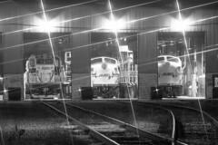 Night Shift (DJ Witty) Tags: emd dieselelectric passenger locomotive railroad photography train passengertrain commuter baltimore maryland usa gp39h2 f9ph marc