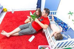 bedtime-5 (lermaniac) Tags: purple bedtime story family home homelife father kids children child