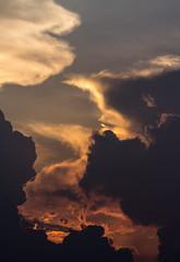 Patterns in the Sky.....!! (sandy_photo) Tags: clouds cloudscape monsoon rainyseason rain sirocummulus india nature