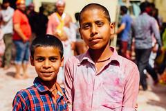 Indian Boys During Holi, Baldeo India (AdamCohn) Tags: 013kmtobaldevinuttarpradeshindia abeer adamcohn baldeo baldev india uttarpradesh boys colors geo:lat=27407803 geo:lon=77821369 geotagged gulal holi play street streetphotography wwwadamcohncom अबीर गुलाल chhabirau