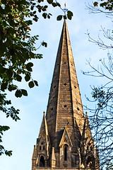 DSC_0086 (AndyRees1) Tags: cathedral churches historic llandaff llandaffcathedral sculptures statues wales weathervane cardiff southglamorgan unitedkingdom 826