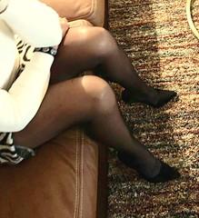 MyLeggyLady (MyLeggyLady) Tags: cleavage toe feet upskirt sex hotwife milf sexy secretary teasing miniskirt thighs cfm pumps stiletto legs heels