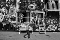 Midway (mfhiatt) Tags: img28990818jpg fujix100f fair iowastatefair desmoines iowa street streetphotography blackandwhite
