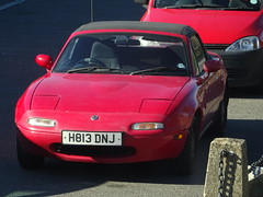 1990 Mazda Eunos Roadster (MX-5) (Neil's classics) Tags: vehicle 1990 mazda eunos roadster mx5