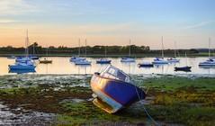 Stranded (Tilney Gardner) Tags: dellquay chichester sunset boats sussex westsussex