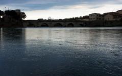 Rimini ponte Tiberio pioggia (berightbackblog) Tags: rimini romagna emiliaromagna italia italy mare streetart