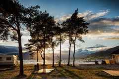Morning glory @ Norway 2018 (zilverbat.) Tags: noorwegen norwegian norge norway norwic tripadvisor travel europe zilverbat pin europa sunlight sunset clouds outdoor trees landscape image nature visit caravan ship viking scandinavie camping bay lake sandance sandane drakar ngc