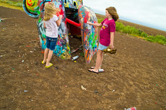 Epic Road Trip 2018_836-837 (mocajomiso) Tags: 18200mm 2018 amarillotexas cadillacranch crosscontryroadtrip d3100 lily nikon nikond3100 sophie tamron tamron18200 texas roadtrip trip vacation