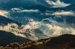 Rhodope mountains (Ivaylo Madzharov) Tags: rhodope mountain bulgaria landscape nature autumn fog forest morning