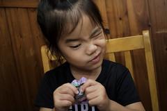 2018.10.21 (I'm Little spring roll (春捲冒煙了!)) Tags: 寶寶 女孩 孩子 嬰兒 baby taiwan 小春捲 kid