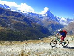 Autumn Riding in Zermatt Switzerland  (38) (Carl and Sian) Tags: sian carlandsian cycling singletrack sianandcarl skiing mountainbiking mountainbike mountainbikes orangemountainbikes