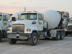 RMC # 20 at Day's End (m.yamnitz) Tags: cement concrete mixer truck