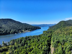 lake view (Steve4343) Tags: steve4343 appalachian trail cherokee national forest red green blue yellow orange white clouds sky beautiful tennessee autumn beauty johnson county lake watauga cloud colorful woods garden gardens happy leaves rocks wildlife landscape mountain tree trees grass water wood butler summer spring macro flower flowers at dji mavic air view
