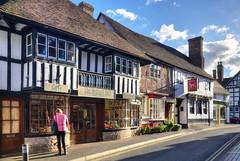 High Street, Much Wenlock, Shropshire (Baz Richardson (now away until 26 Oct)) Tags: shropshire muchwenlock smalltowns streetscenes oldbuildings