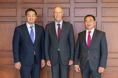 WIPO Director General Meets Mongolia's Delegation to the 2018 WIPO Assemblies (WIPO | OMPI) Tags: mongolia francisgurry directorgeneral wipo ompi assemblies bilateralmeeting