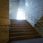Foyer from stair space. The area which a given sunlight can illuminate.