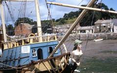 Rejects (foundin_a_attic) Tags: mayflower replica ship boat vessel padstow