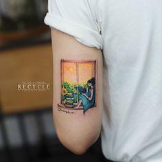 scene (TattooForAWeek) Tags: scene tattooforaweek temporary tattoos wicker furniture paradise outdoor