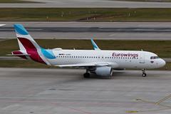 D-AEWS_A320_ZRH_23JAN18 (Plane Shots) Tags: a320 daews eurowings jetliner lszh zrh