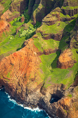 Na Pali Coast & Open Sea Cave (rsgbot) Tags: fall kauai napalicoast nāpalicoaststatepark pacific pacificocean aerial arial beach canyon cliff clouds cloudscape helicopter island landscape ocean sea sun hanalei hawaii unitedstates canon canoneos5dmarkiii october 2018 ef50mmf12lusm nāpalicoaststatewildernesspark napalicoastopenseacave