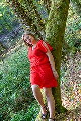 IMG_9322 (fab spotter) Tags: younggirl portrait forest levitation brenizer extérieur lumièrenaturelle