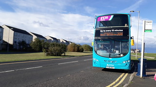 Recently refurbished Arriva northumbria 7628