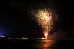 Out with a bang (jeffhob) Tags: fireworks worthing pier lions 2018 bonfire night sussex beach sea lido front canon longexposure guy fawkes 1200d