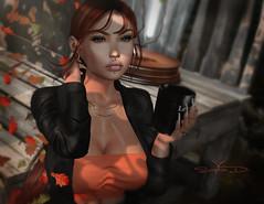 # ♥701 (sophieso.demonia) Tags: iconic cosmopolitan glam affair arte nanika addams blueberry amitie