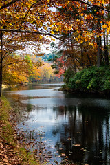 Otter Lake on the Blue Ridge Parkway. (harold.burnley) Tags: autum blueridgeparkway ottercreek swvirginia lake landscape reflection water monroe virginia unitedstates us