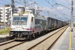 253-098 (Escursso) Tags: adif catalunya mercancias molletsantfost renfe spain 253098 traxx ford tunnel express eurotunel transfesa