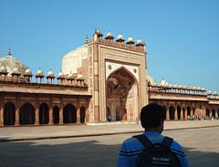 Jama  Masjid Fatehpur Sikri (U A Satish) Tags: fatehpursikri jamamasjid mughalarchitecture uttarpradesh mosque uasatish