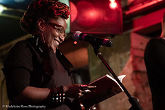 Malika Booker (Penned in the Margins) Tags: perseverance poetry spoken word poet performance shoreditch hackney raymond antrobus bsl sign language deaf book launch books publishing poetic poem