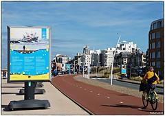 On the way (rasafo66) Tags: scheveningen südholland niederlande nordsee netherlands northsea bluesky blauerhimmel sonyalpha58 tamron1750