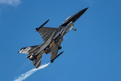 Belgian Air Force Dark Falcon (spipra) Tags: afw2018 athens airshow aircraft airplane demonstration demo f16 falcon