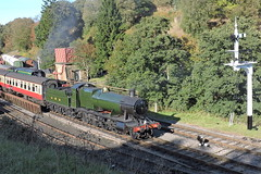 2857 (mike_j's photos) Tags: nymr northyorkshiremoors railway steam gala 2018 goathland 2857