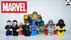 Marvel Villains - Phase Two (HaphazardPanda) Tags: comics superhero superheroes hero heroes super comic book books lego figs fig figures figure minifigs minifig minifigures minifigure purist purists character characters marvel villains villian thor iron man captain america hulk black widow hawkeye nick fury guardians galaxy gotg thanos avengers the avenger assemble age antman aldrich killian mandarin maliketh winter soldier nebula ronan accuser ultron yellowjacket