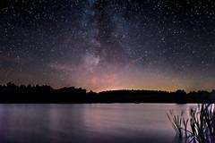 Magic Lake (ReppiX) Tags: nacht nachthimmel milchstrase milkyway lake see sterne sternhimmel sternenhimmel dunkelheit stars night nightsky nightshoot nightshooting landschaft landscape