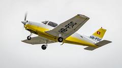 Piper PA-28-161 HB-POC Flugshule Basel (William Musculus) Tags: airport spotting basel mulhouse freiburg euroairport flughafen eap bsl mlh lfsb piper pa28161 hbpoc flugshule pa28 warrior ii